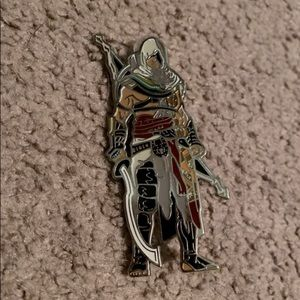 Assassins creed fig pin video game collectible